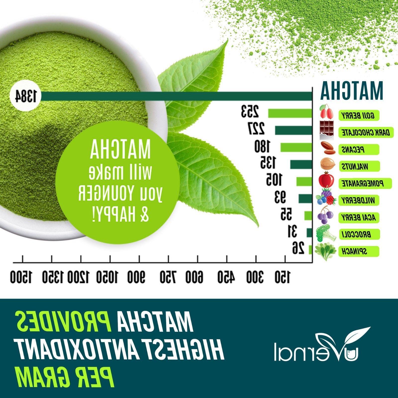 ▶▶▶100% MATCHA Unsweetened Pure Green Tea Natural Grade