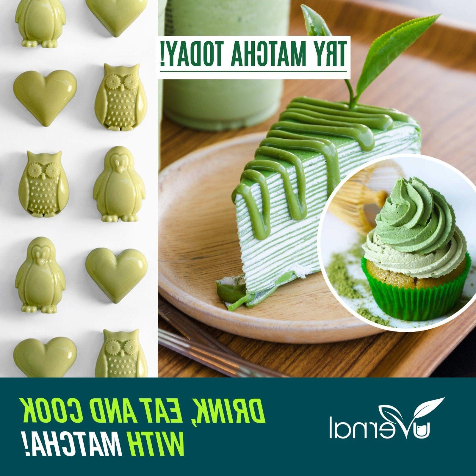 ▶▶▶100% MATCHA POWDER Unsweetened Pure Green Tea Natural
