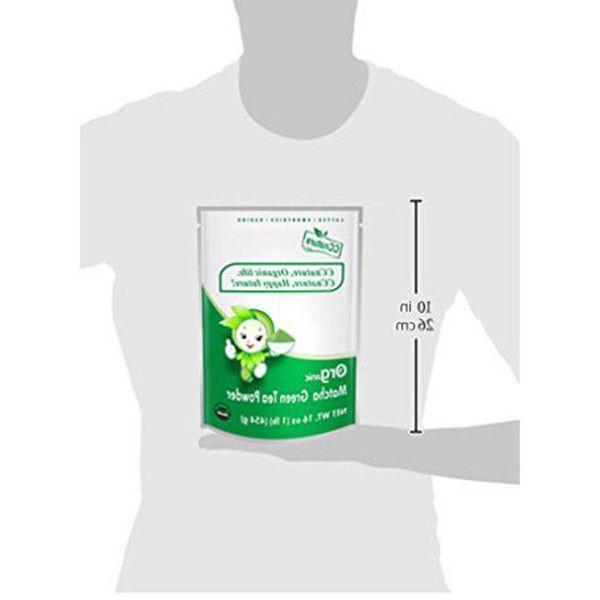 454g CCnature Organic Tea Powder CEREMONIAL Matcha 64