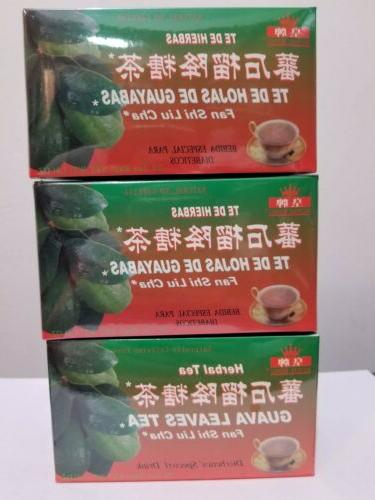 3 boxes 100 percent natural guava leaves