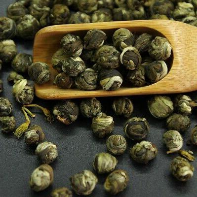 Chinese Phoenix Handmade Jasmine Green Tea, organic aroma DR