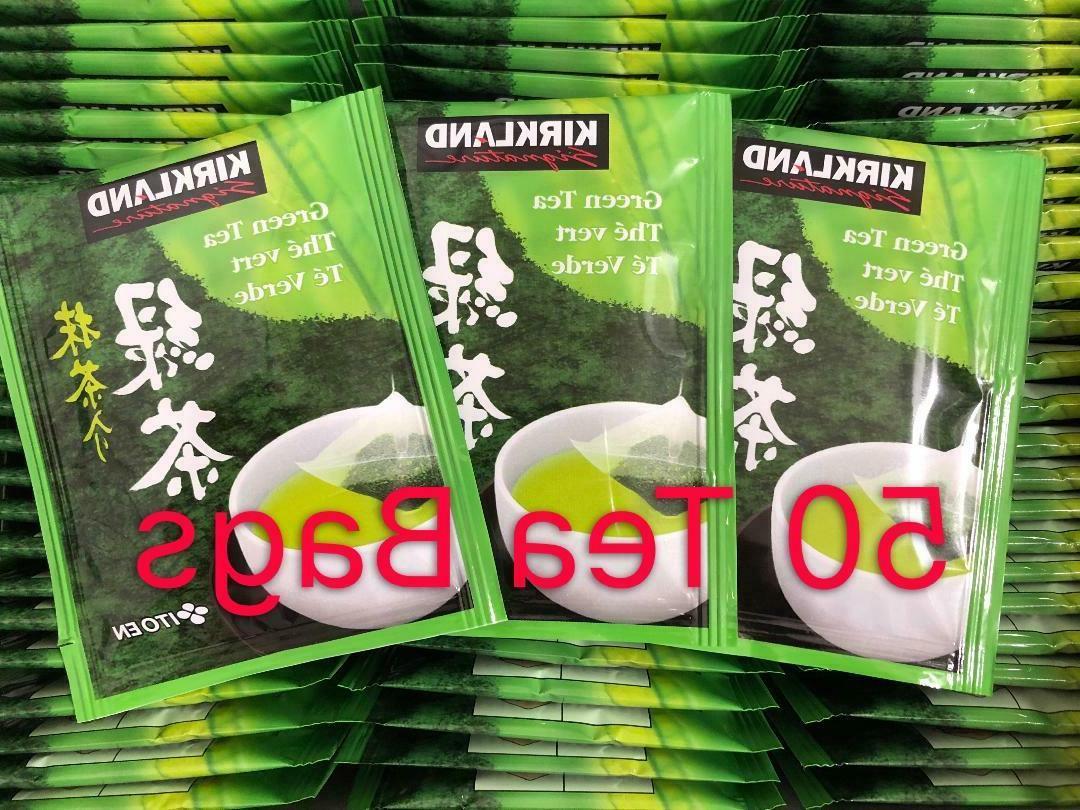 50 tea bags kirkland signature s japanese