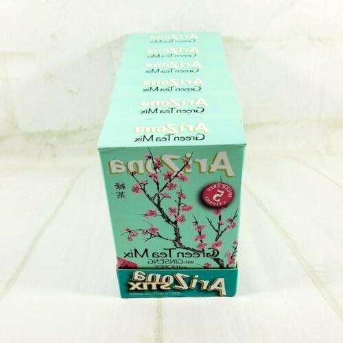 6 Boxes Arizona Green Tea Ginseng Honey Singles KETO VEGAN