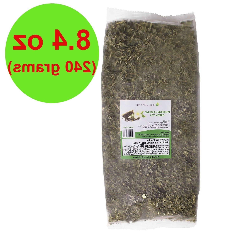 8 4 oz premium jasmine green tea