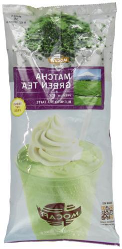 MOCAFE Matcha Green Tea Blended Tea Latte, 3-Pound Bag Insta