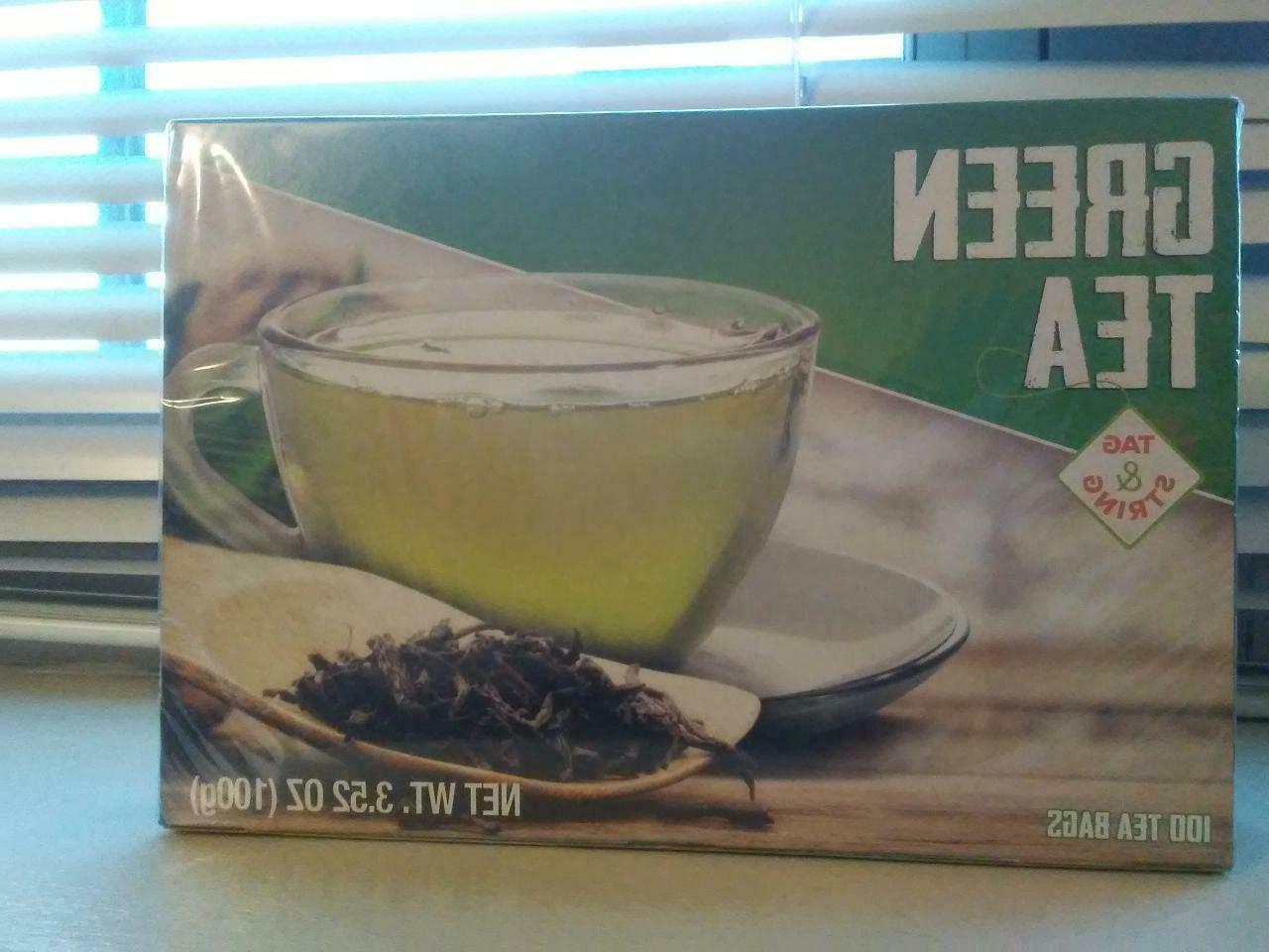 antioxidant green tea single large box of
