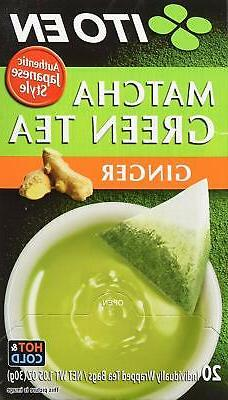 Ito En Authentic Japanese Style Ginger Flavored Matcha Green