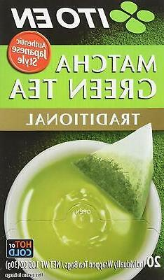Ito En Authentic Japanese Style Traditional Matcha Green Tea