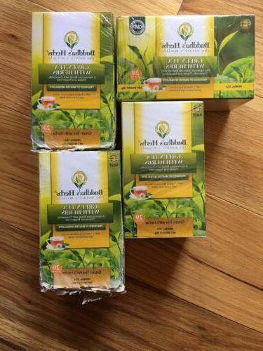 buddhas herbs green tea with herbs 80
