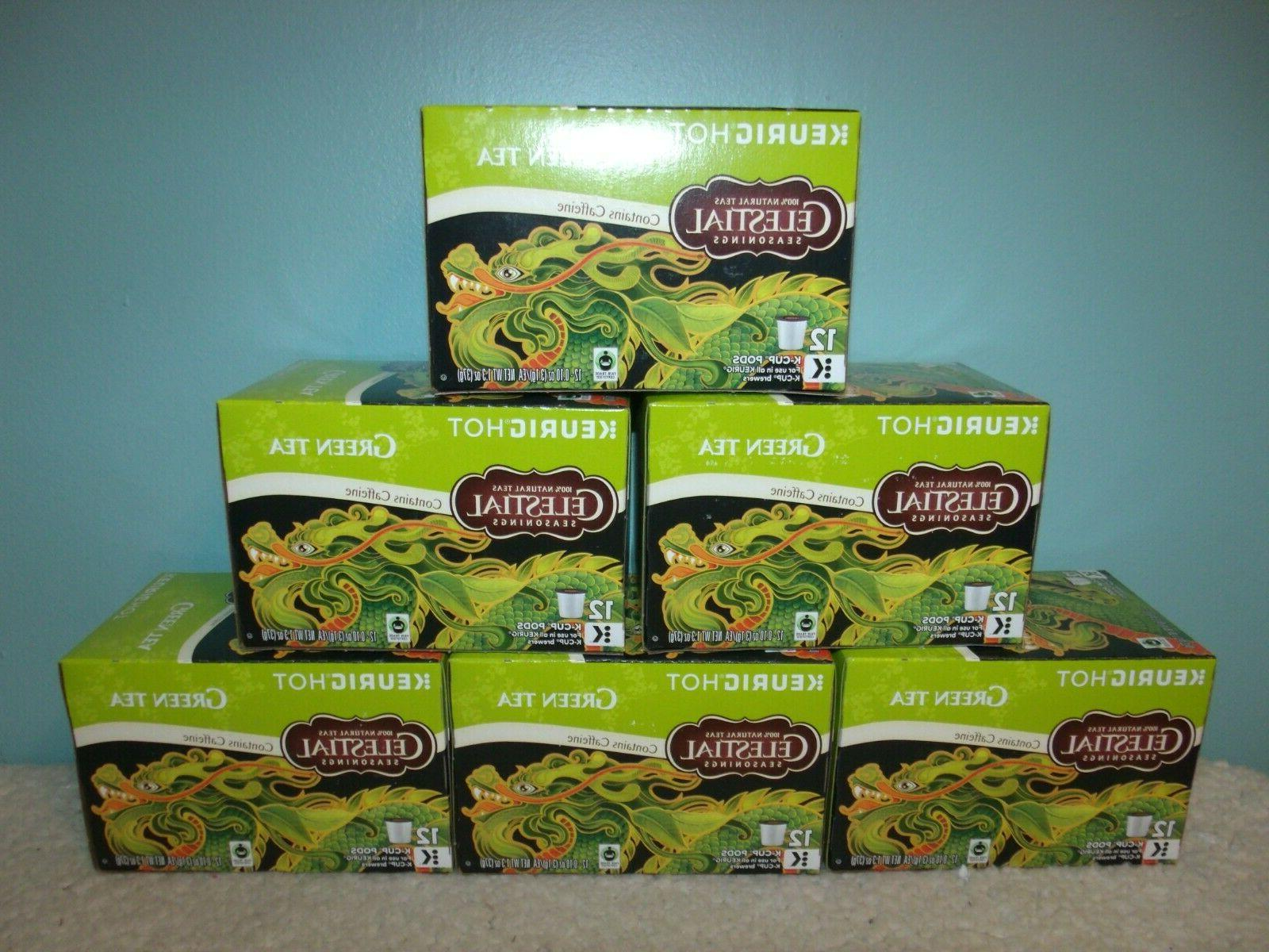 Keurig Celestial Seasonings Green Tea K-cups 12 Count