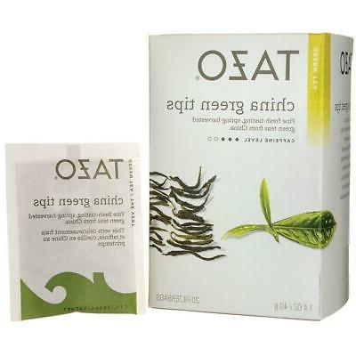 Tazo China Green Tips Green Tea Filterbags