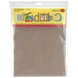 Grafix Medium Weight Chipboard Sheets: 8.5x11, 6/Pkg.
