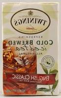 Twinings Cold Brew Tea, English Classic, 20 Count Bagged Tea