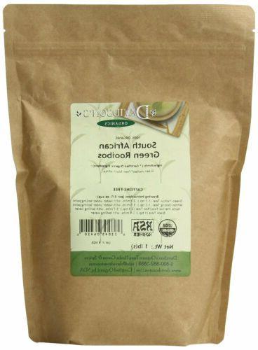 Davidson`s Tea Bulk, So African Green Rooibos, 16-Ounce Bag