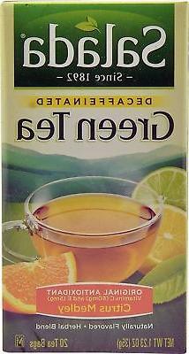 Salada Decaffeinated Green Tea with Original Antioxidants Ci