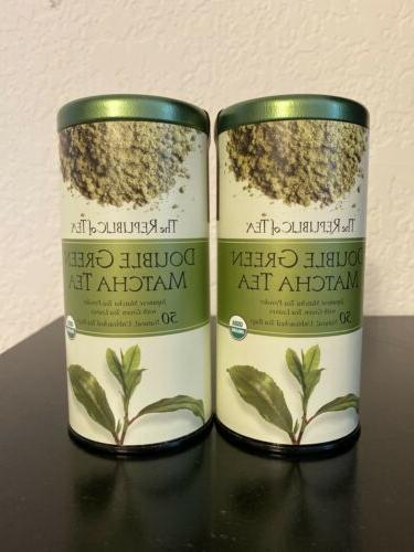Double Green Matcha Tea, The Republic of Tea, 50 tea bag