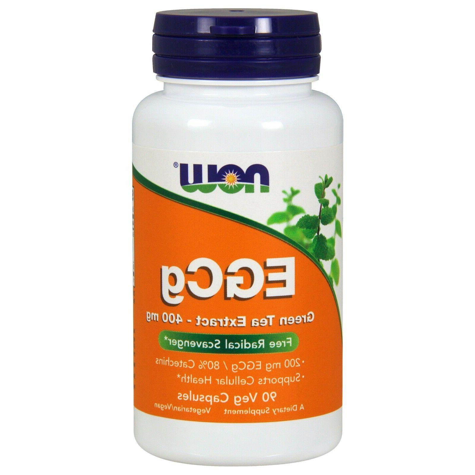 EGCg Green Tea Extract by Now Foods 90 Vegetarian Capsules