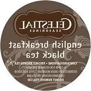 CELESTIAL SEASONINGS ENGLISH BREAKFAST BLACK TEA 120 K CUP P