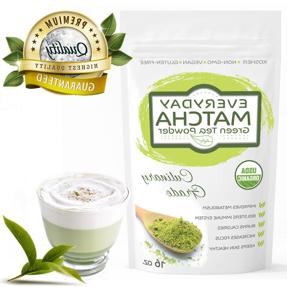 Everyday Green Powder USDA Organic- 16