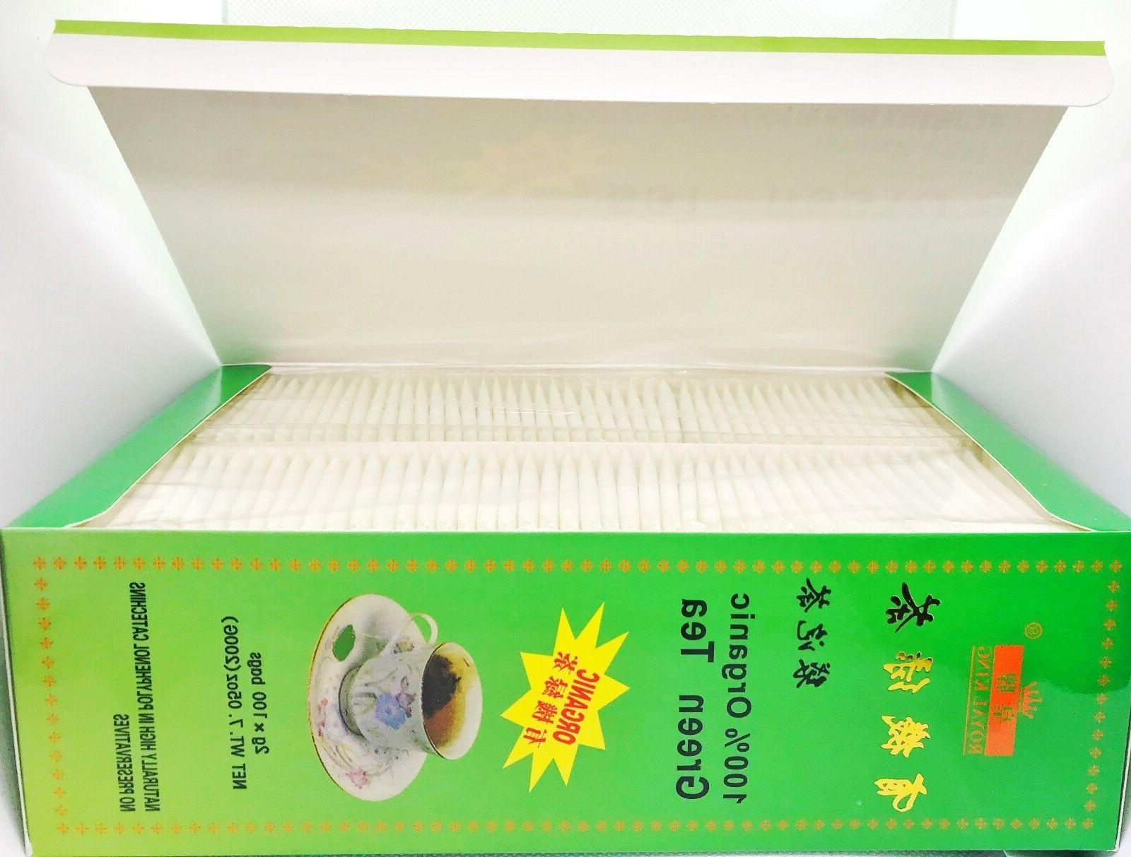 FRESH Organic Chinese Tea USDA Certified bags.