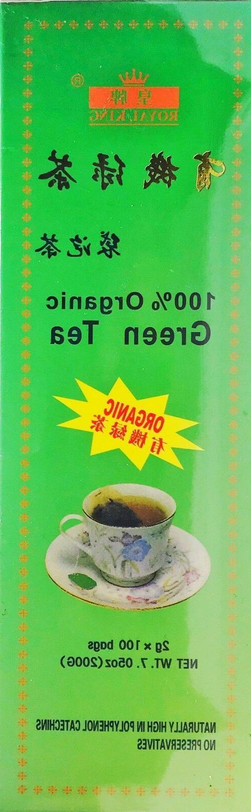 Organic Tea USDA Certified bags.
