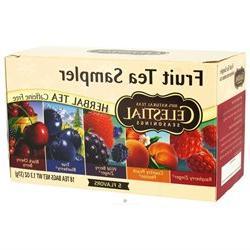Celestial Seasonings Tea Fruit Sampler Herb Teas, Bags 20 ea