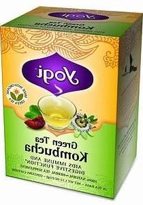 Green Tea with Kombucha-16 Brand: Yogi Organic Teas