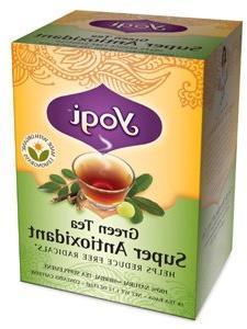 Yogi Tea Green Tea Super Antioxidant, Herbal Supplement, Tea