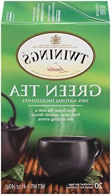 Twinings Green Tea, 1.41-Ounce Boxes Pack of 6
