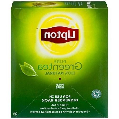 green tea 100 percent natural 100 ct