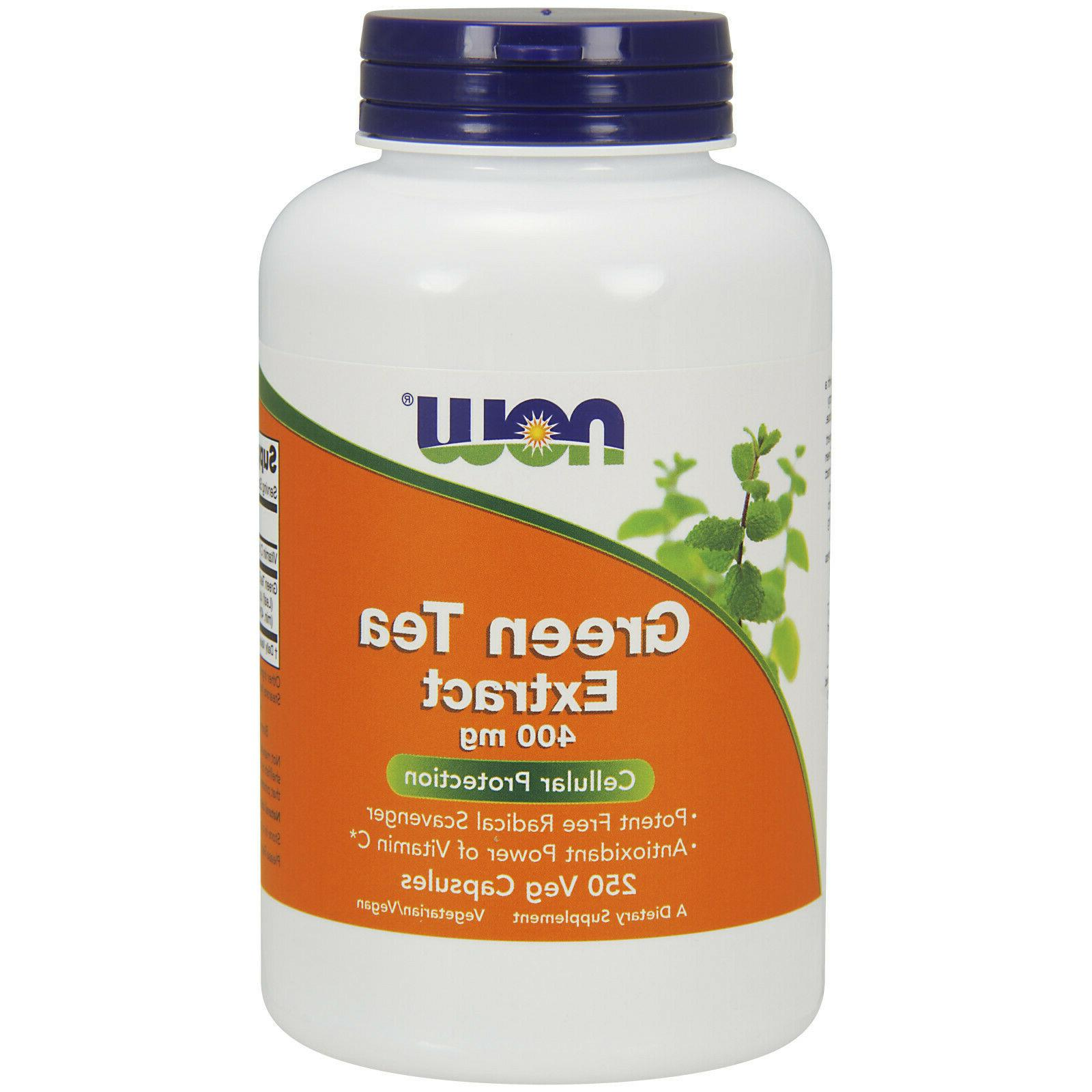 Green Tea 400 mg - Now Foods - 250 - Capsule