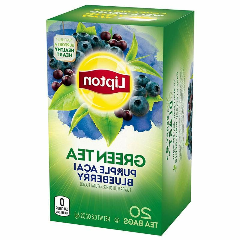 Lipton Purple Acai Blueberry, ct of