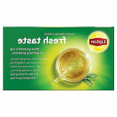 Lipton Green White Mangosteen Peach Count, Pack of