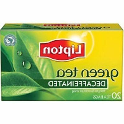 Lipton Green Tea Decaffeinated Tea Bags