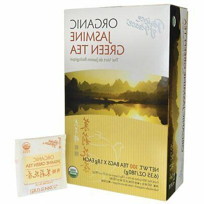 Prince of Peace Green Tea Jasmine - 100 Tea Bags