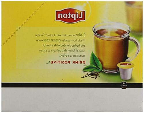 Lipton Green Tea Portion for Brewers, Soothe Smooth, Count