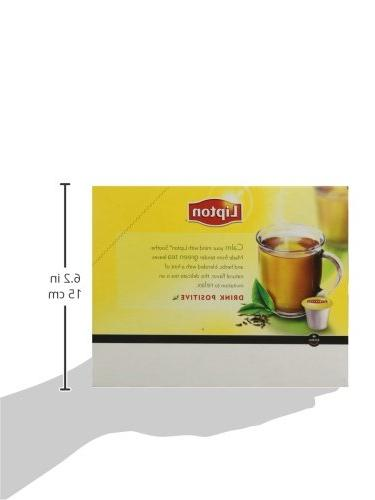 Lipton Green K-Cup Portion Keurig Brewers, Smooth, Count