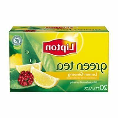 Tea Green Lemn Ginseng