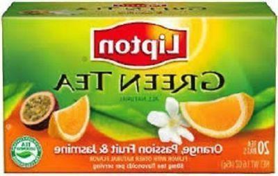 Lipton Green Tea Orange Passionfruit Jasmine 2