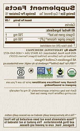 Traditional Medicinals Ginger Tea - 16
