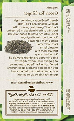 Traditional Organic Ginger Tea 16