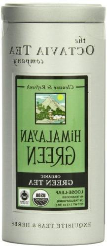 Octavia Tea Himalayan Green  Loose Tea , 2.12-Ounce Tins