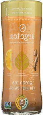 ARGO TEA-Iced Green Tea - Ginger Twist, Pack of 12