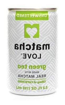 Ito En Matcha Love Green Tea, Unsweetened, 5.2 Ounce Pack of