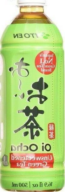 ITOEN-ITO EN OI OCHA UNSWEETENED GREEN TEA  12 Pack Plastic