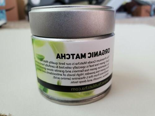Japanese Grade Matcha Green Powder 1 oz,
