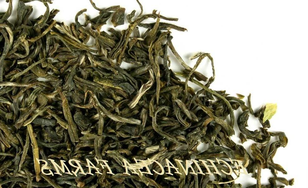 jasmine green tea loose leaf organic herbal