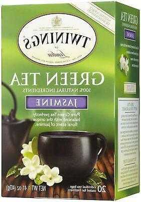 Jasmine/Green Tea Twinings Teas 20 Bag