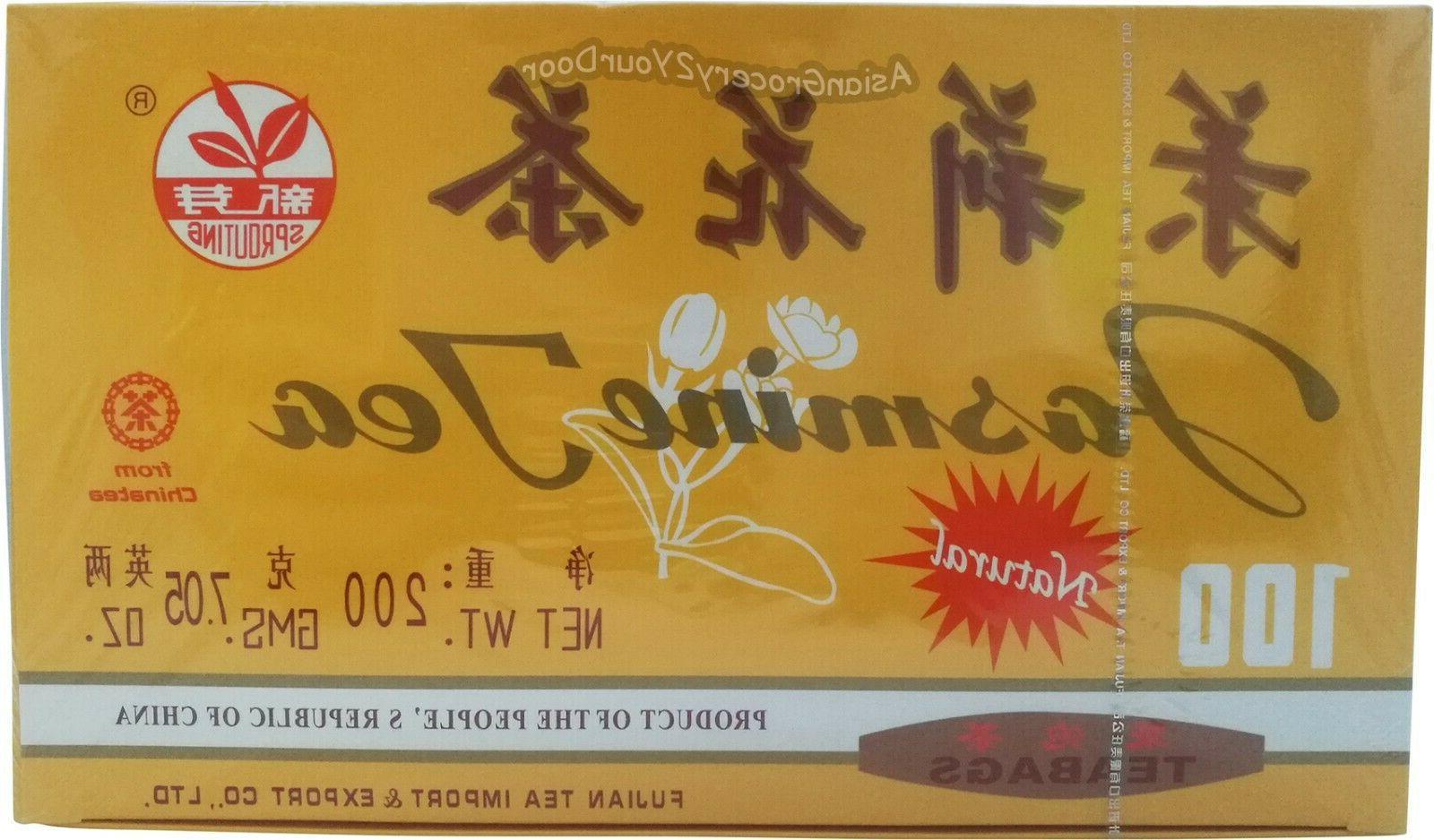 jasmine tea bags chinese green