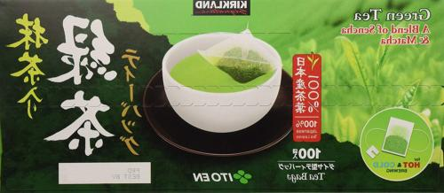 Kirkland Ito En Matcha Blend Japanese Green Tea-100 ct 1.5g